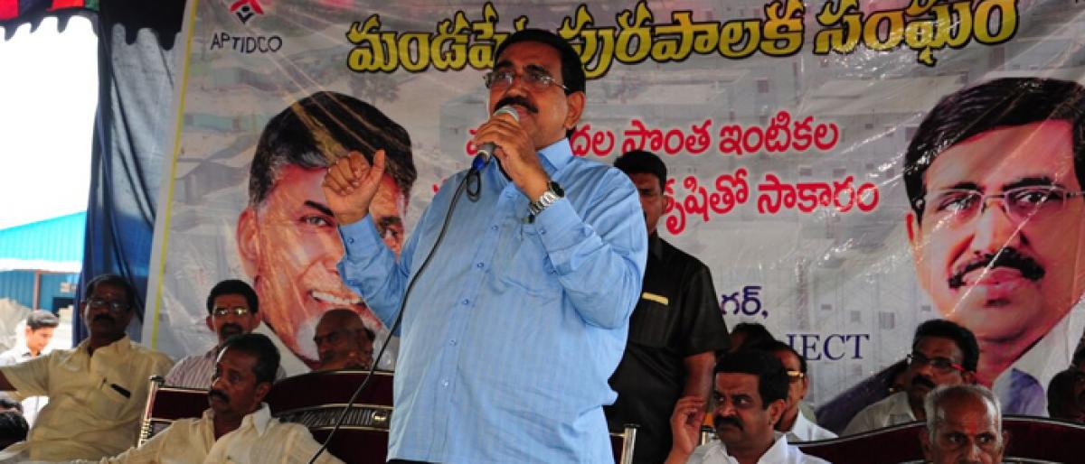 5 lakh will get houses, says Minister P Narayana