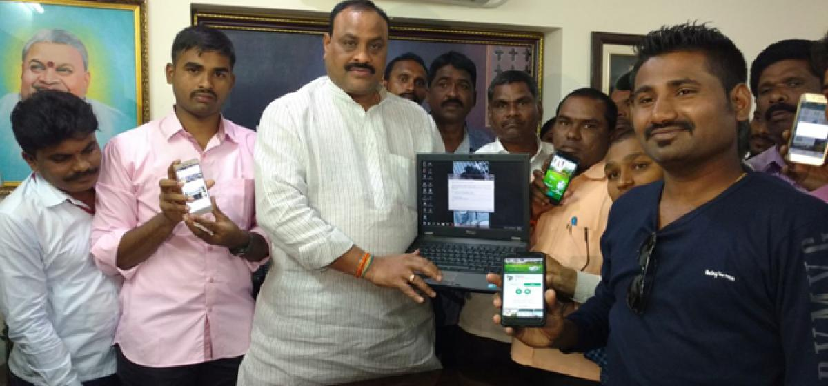 Youth develop website for villagers