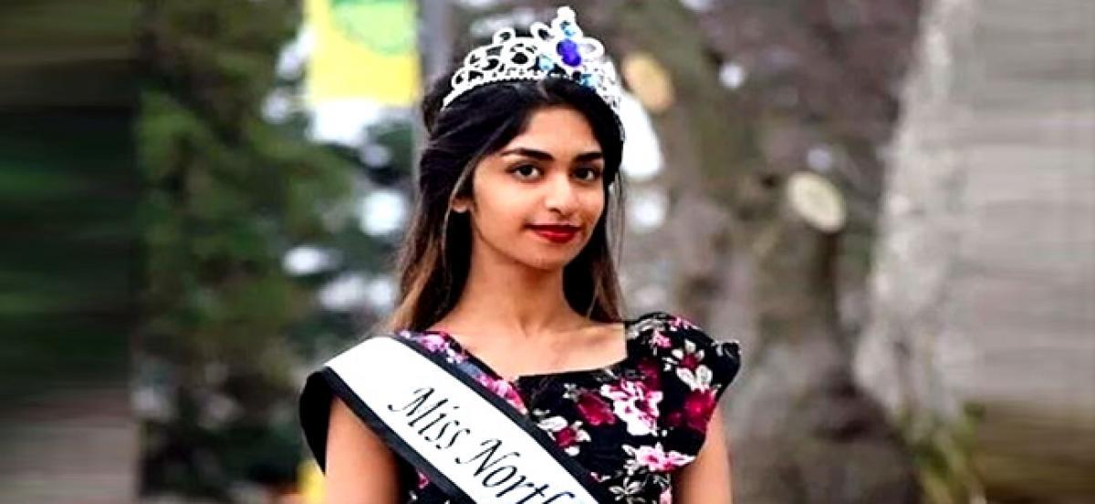Telangana girl eyeing Miss World Canada title