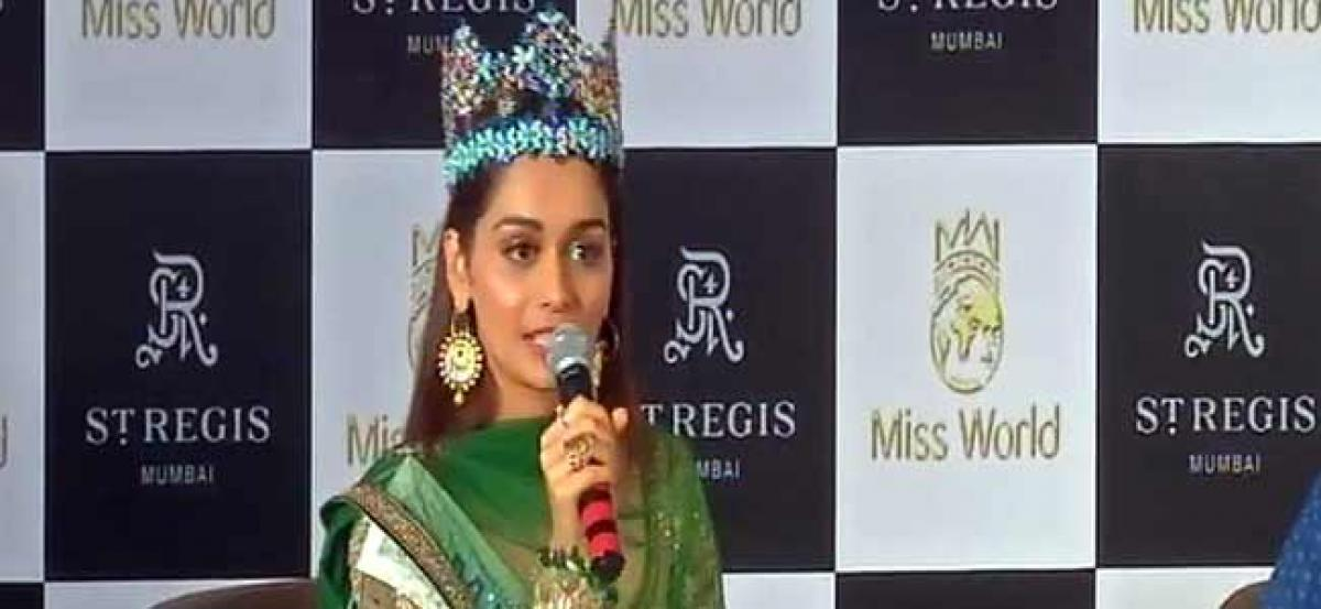 Bollywood not on cards for Miss World