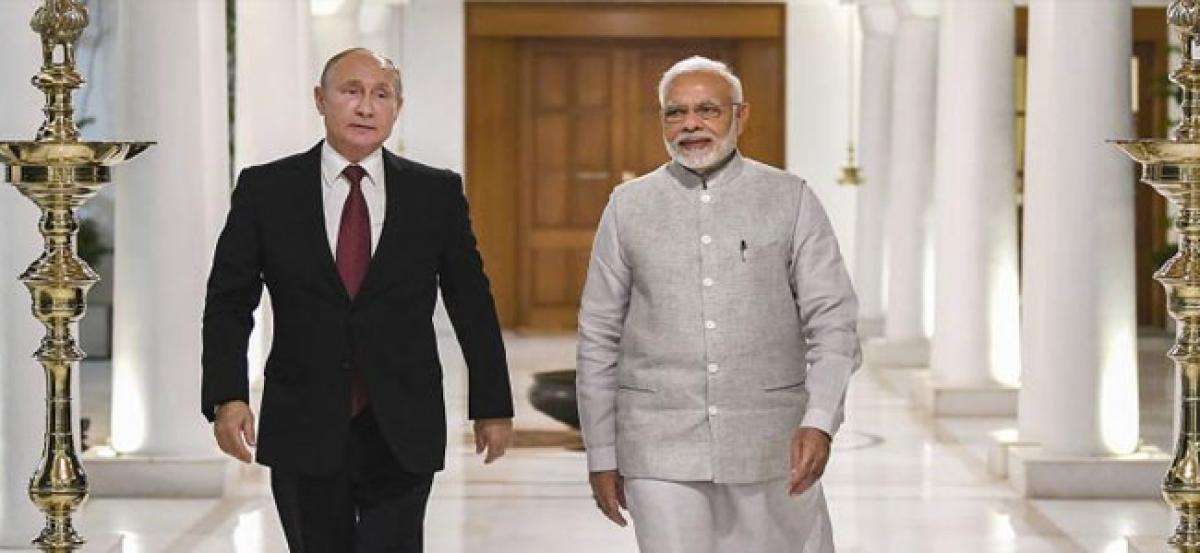 PM Modi-Putin meet today, key S-400 defence system deal in the offing