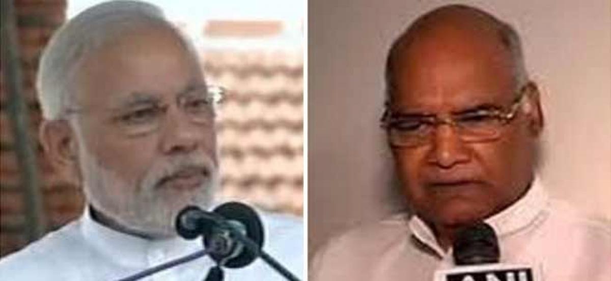 President Kovind, PM Modi greet the nation on Eid al-Adha