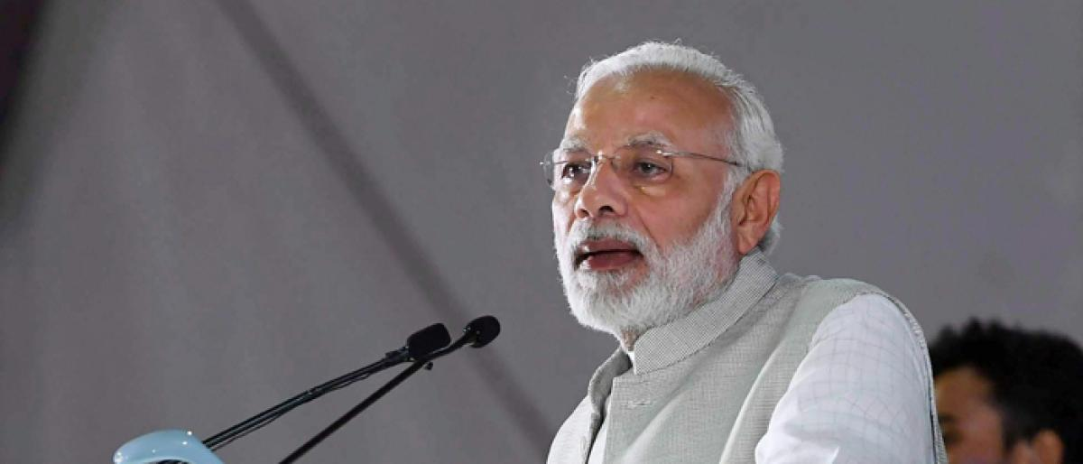 Govt will take tough decisions: Modi