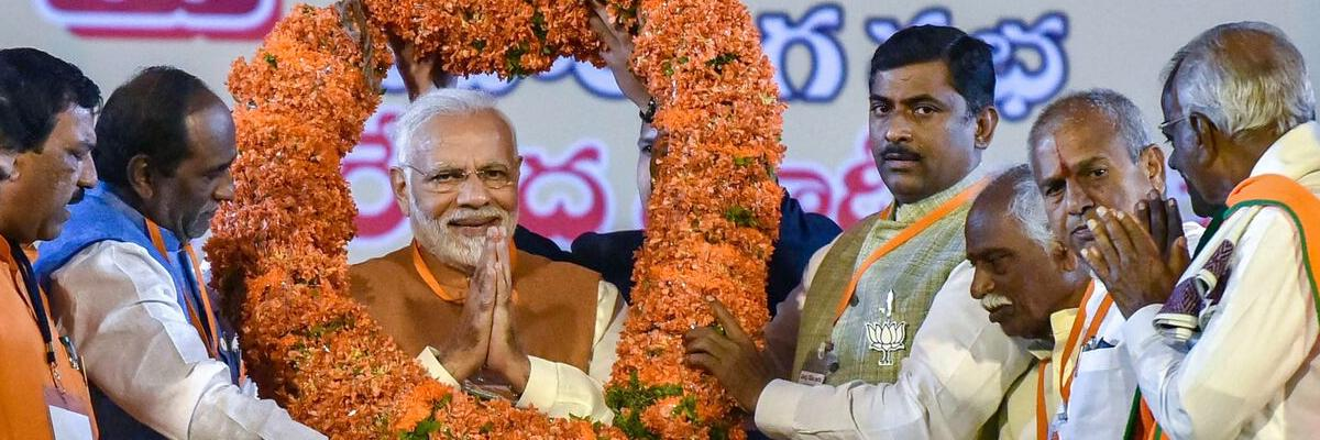 Save Telangana from family rule of KCR: Modi