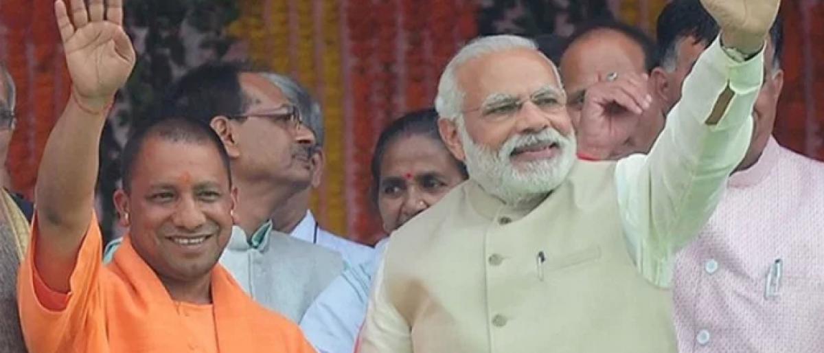 Modi ji is PM and Yogi ji is CM, but Lord Ram is in a tent: BJP leader