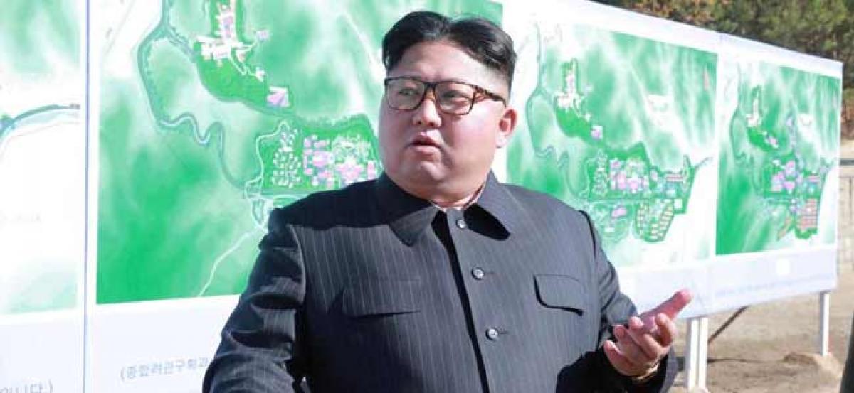 North Korea tests ultramodern tactical weapon, Kim Jong- Un makes inspection