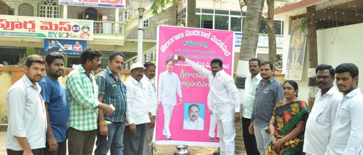 TMM thanks CM for fielding Prakash in Rajya Sabha polls