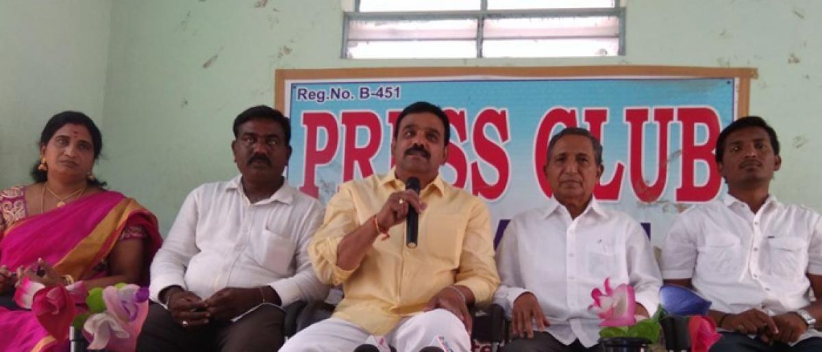 Mudiraj Seva Samithi plans mass marriages on May 6 in Khammam