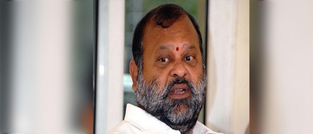 Mukesh Goud reaffirms his Congress identity