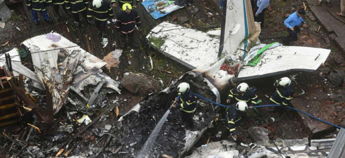 Mumbai plane crash: How a lunch break saved 40 lives in Ghatkopar