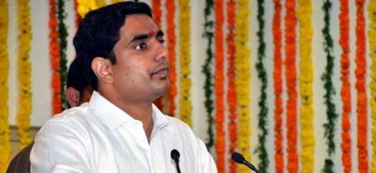 BJP Will Wipe Out from Andhra In 2019: Lokesh