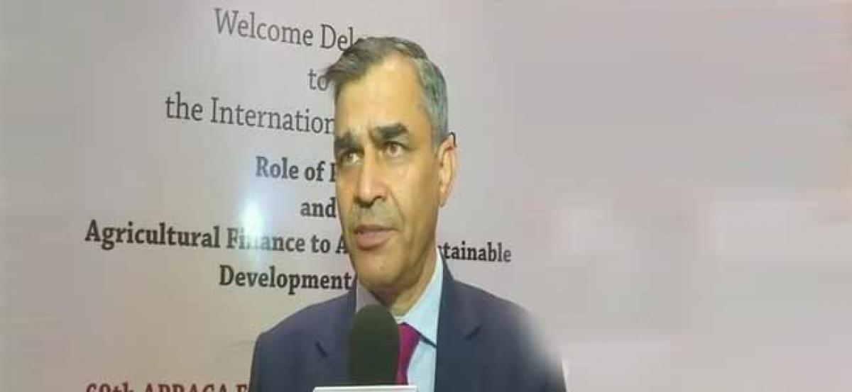 Doubling the farmers income by 2022 achievable, says NABARD Chairman