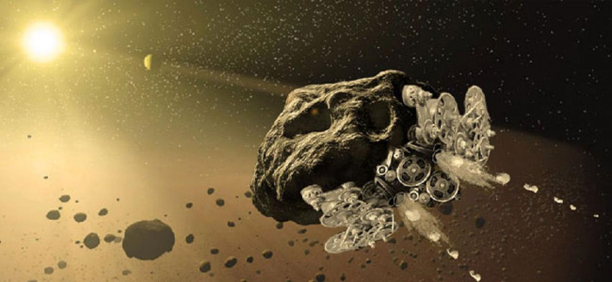 NASA funding project to turn asteroids into spaceships