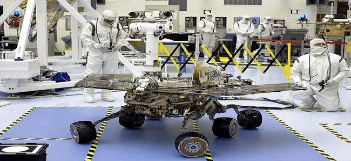 NASAs Opportunity Mars Rover remains silent