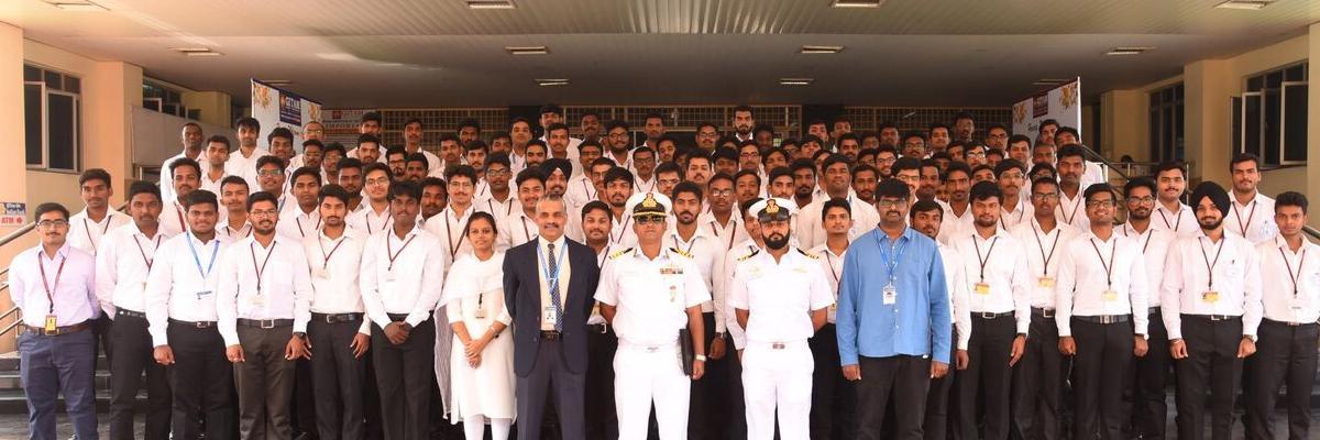 Indian Navy UES screening drive in GITAM