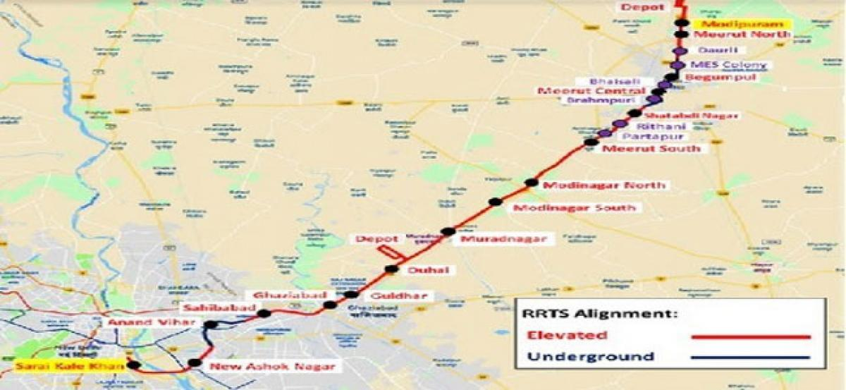 Indias first rapid rail project on track