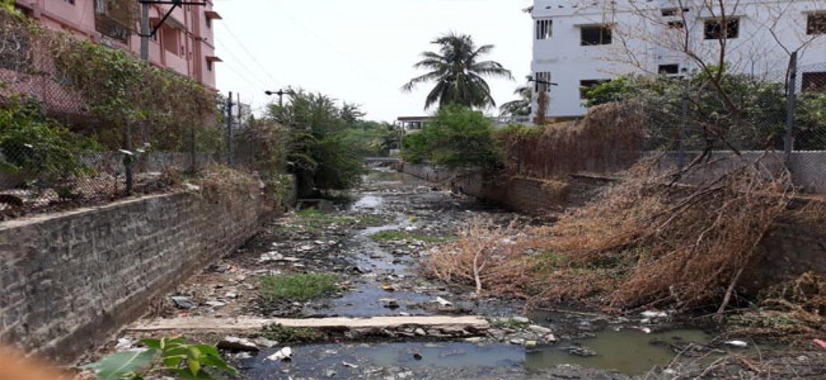 Officials turn blind eye to Balram Nagar Nala plight