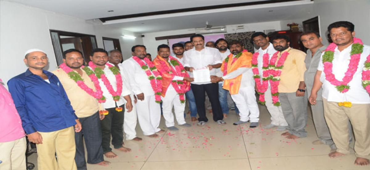 Rahmat Nagar's new TRS committee announced