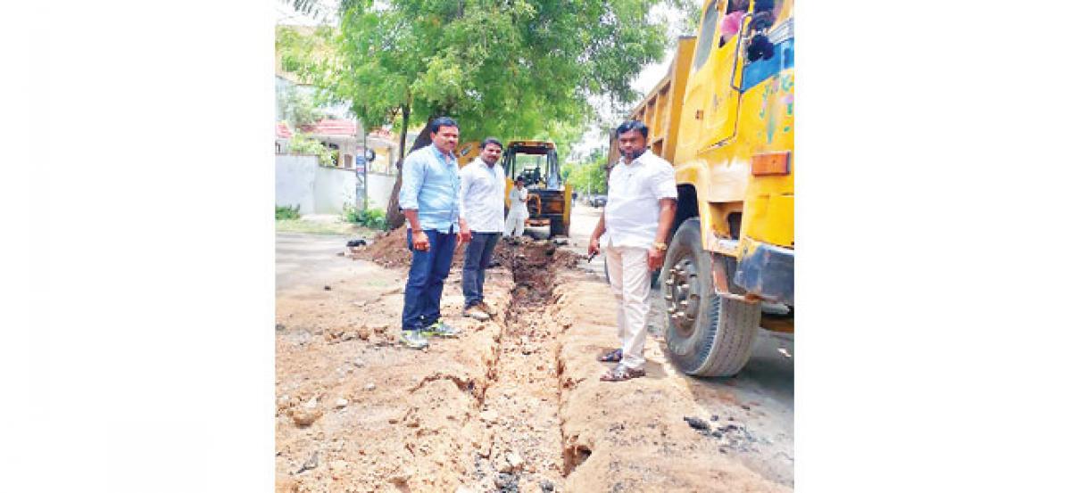 New Manjeera lines at Krishna Nagar