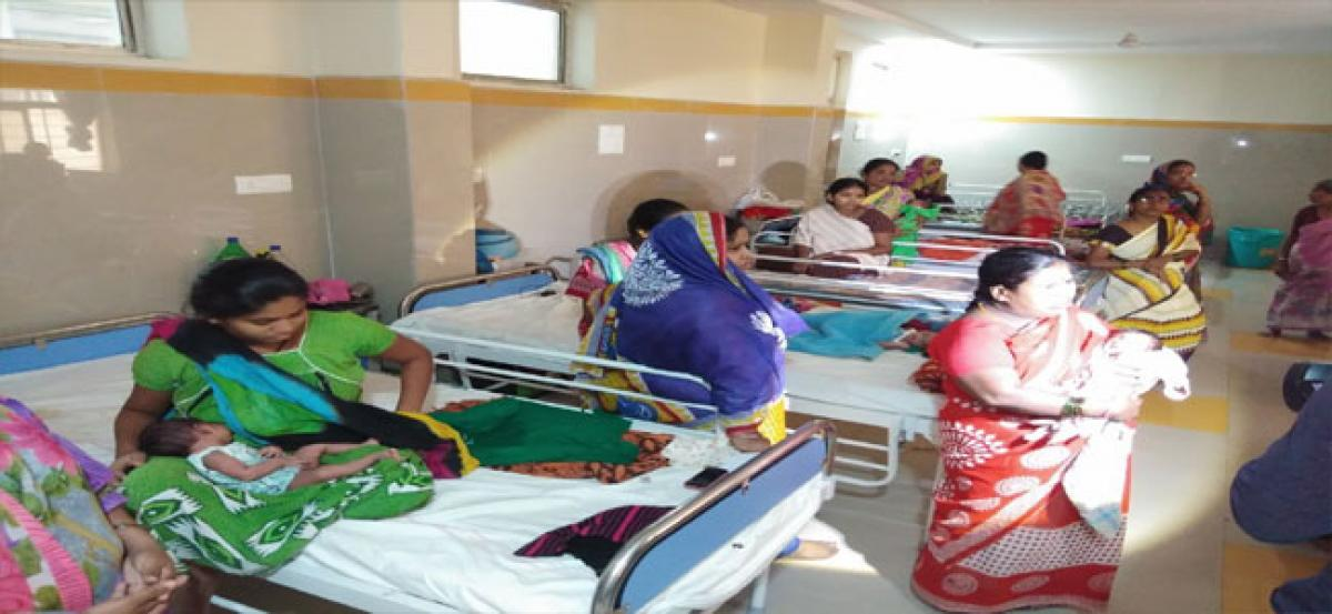 New mothers complain of infected sutures