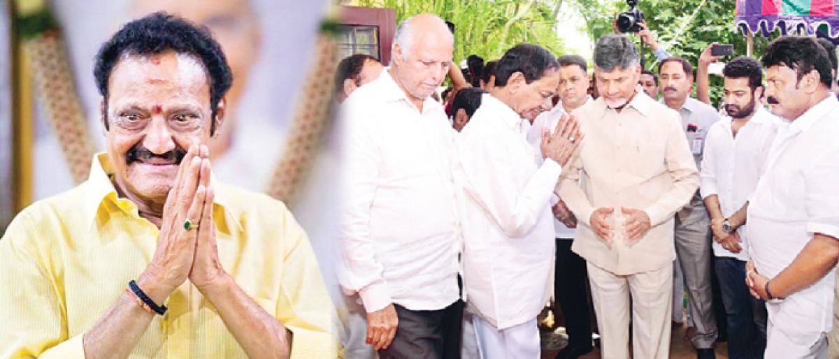 Fiery Nandamuri scion Harikrishna is no more