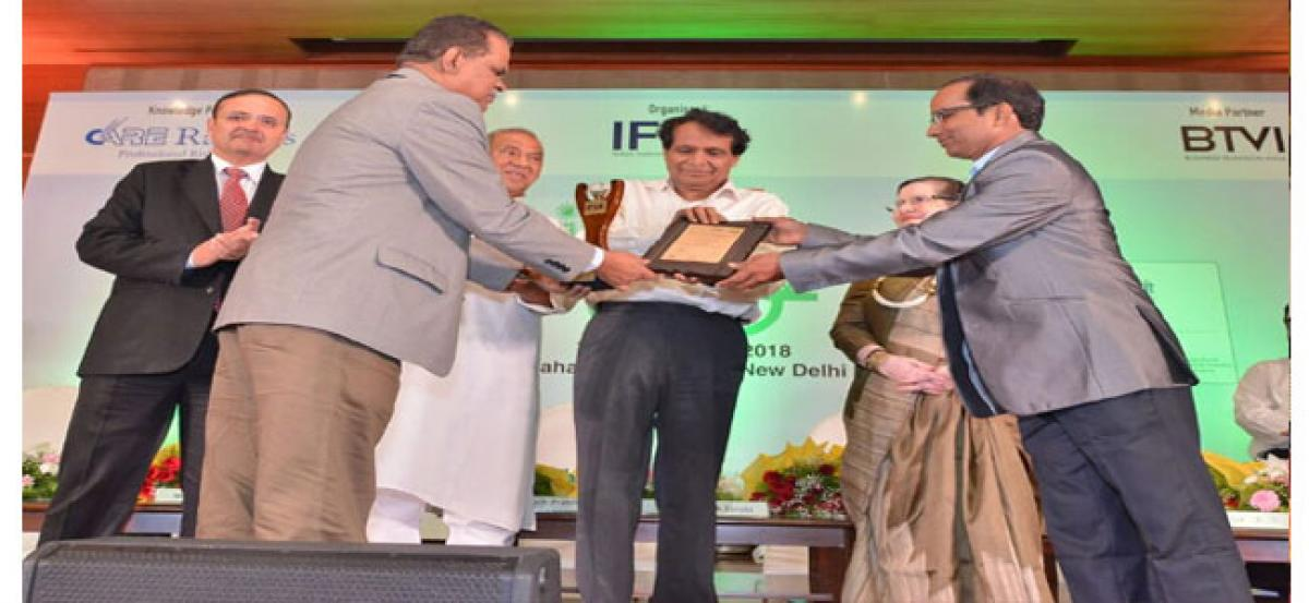 NMDC bags renewable energy award