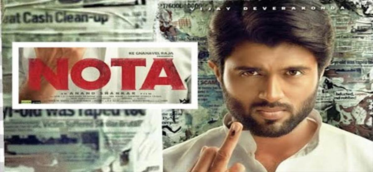 Vijay Devarakonda to dub in Tamil for NOTA