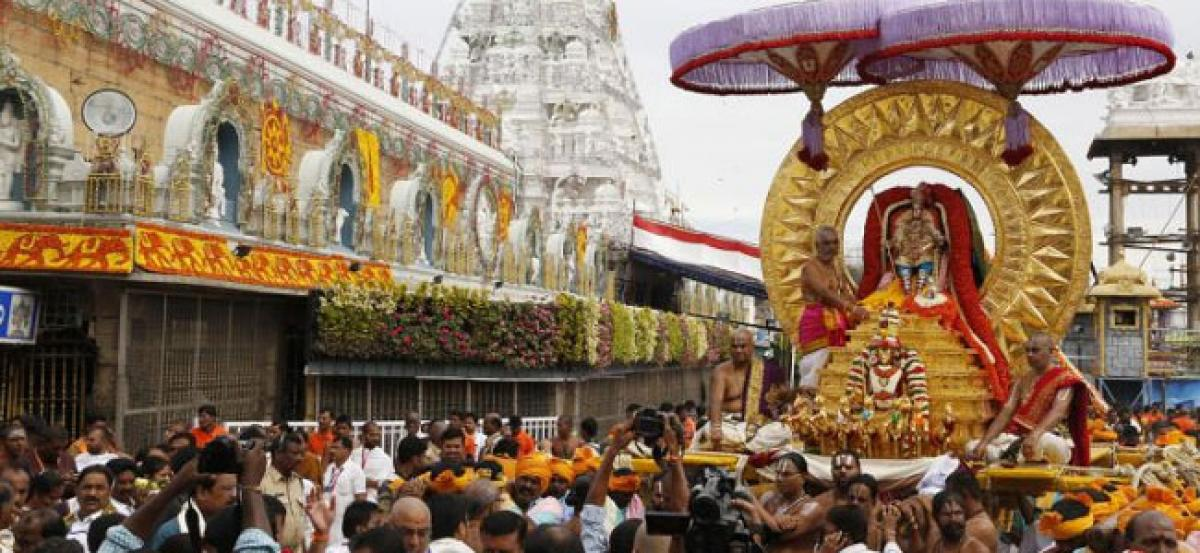 NRI devotees offer Rs 13.5 crore donation to Lord Venkateswara