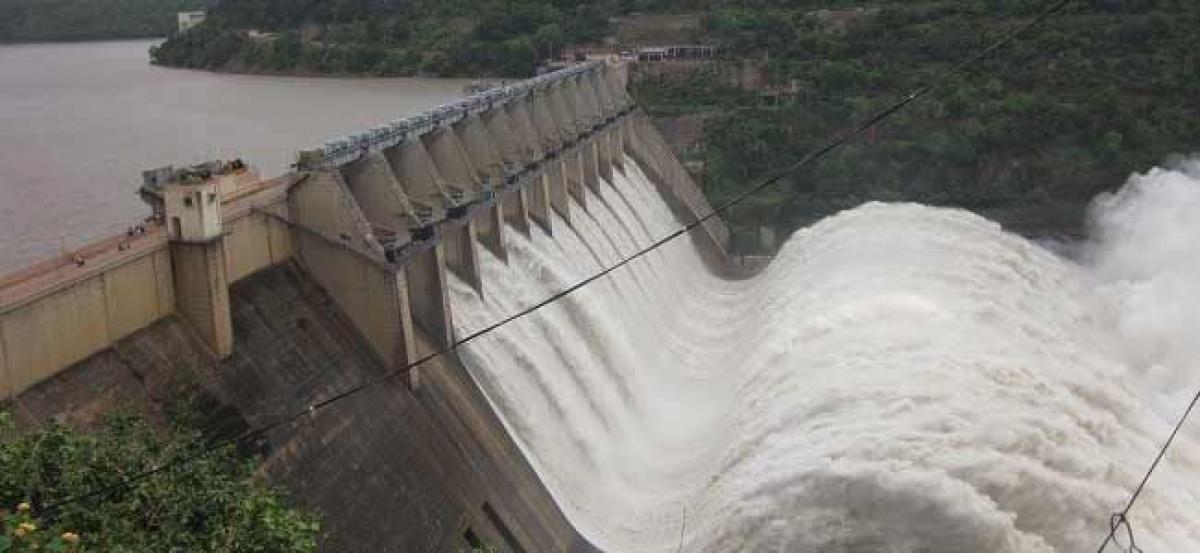 Water released into Nagarjuna Sagar Left Canal