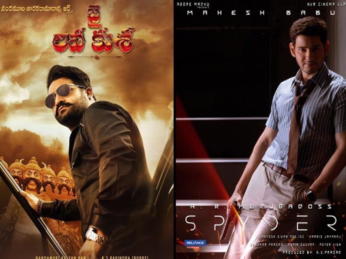 Mahesh Babus Spyder and Jr.NTRs Jai Lava films opt out from Dasara Race