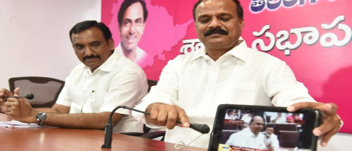 TRS fumes over Nagam Janardhan Reddy's charges