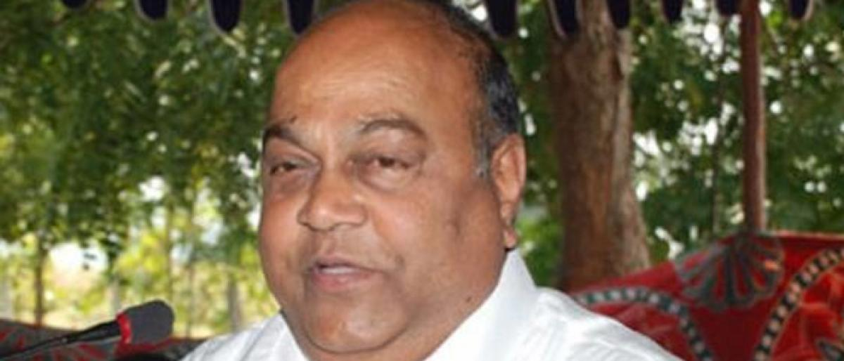 Nagam Janardhan Reddy has finally quit BJP