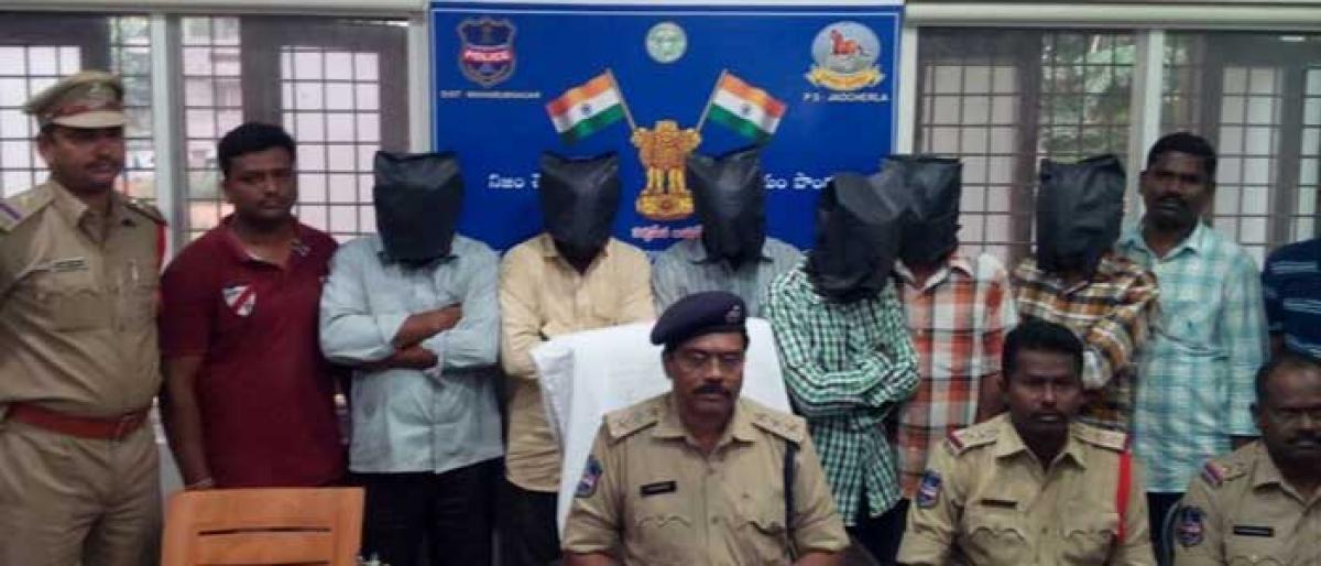Jadcherla police cracks Nagasala twin murder case