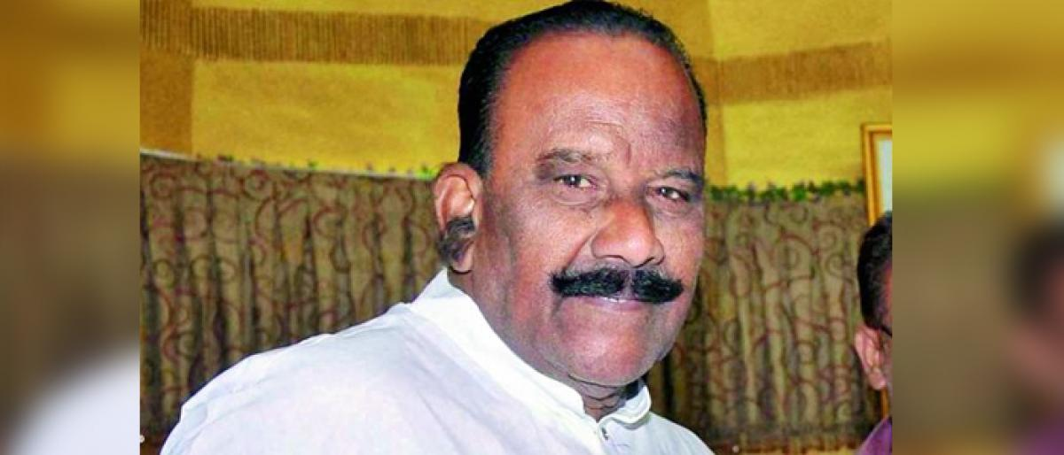 Home Minister Naini Narasimha Reddy rules out movement of Maoists in TS