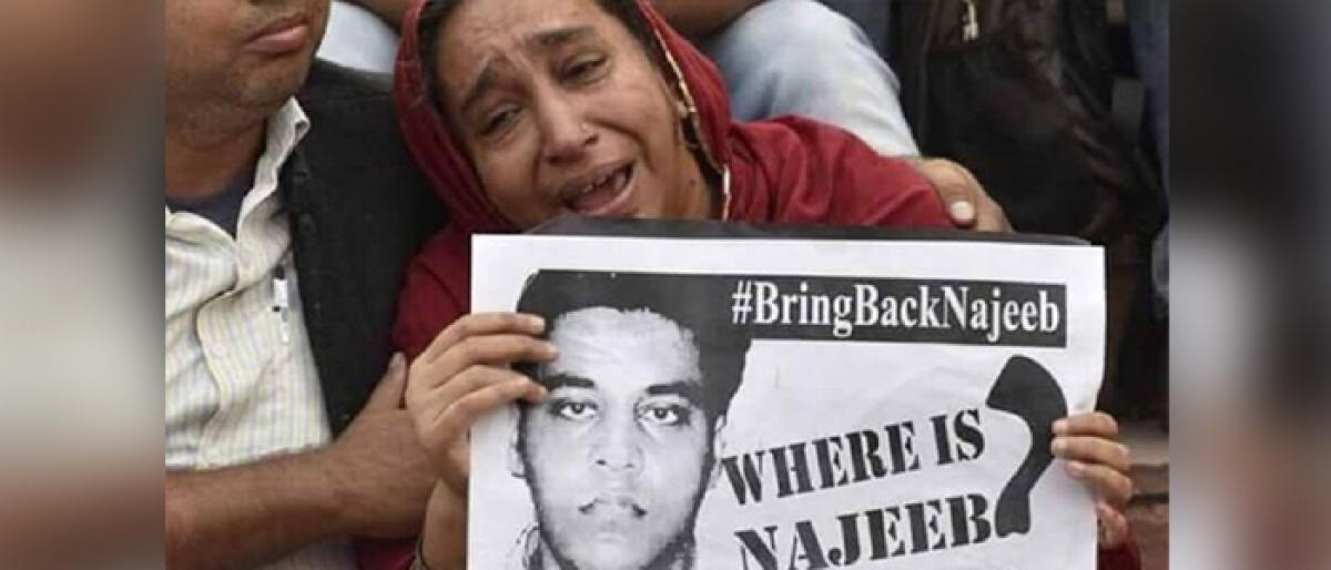 Activists call for ouster of BJP govt; march for missing JNU student