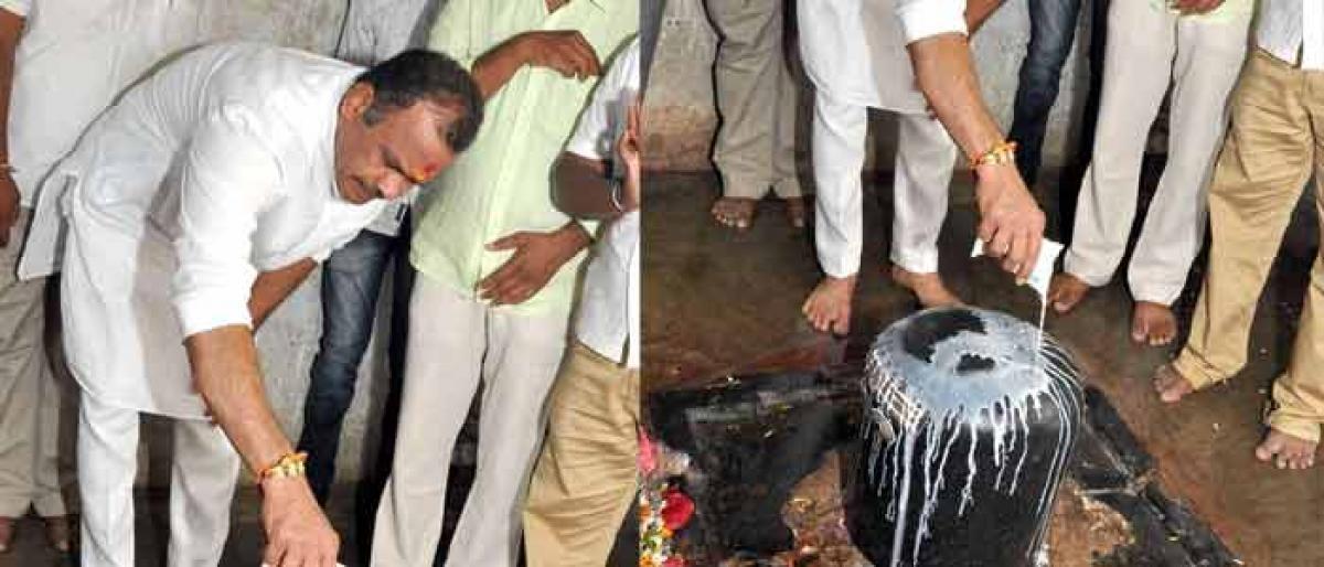 Komati accuses Jagadish of practicing murder politics