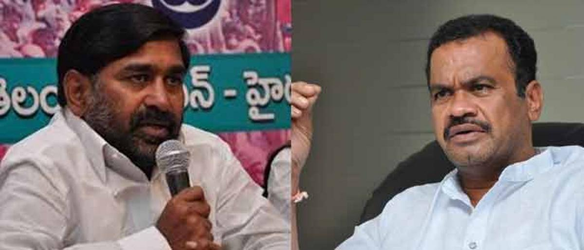 Jagadish Reddy launches diatribe against Komati