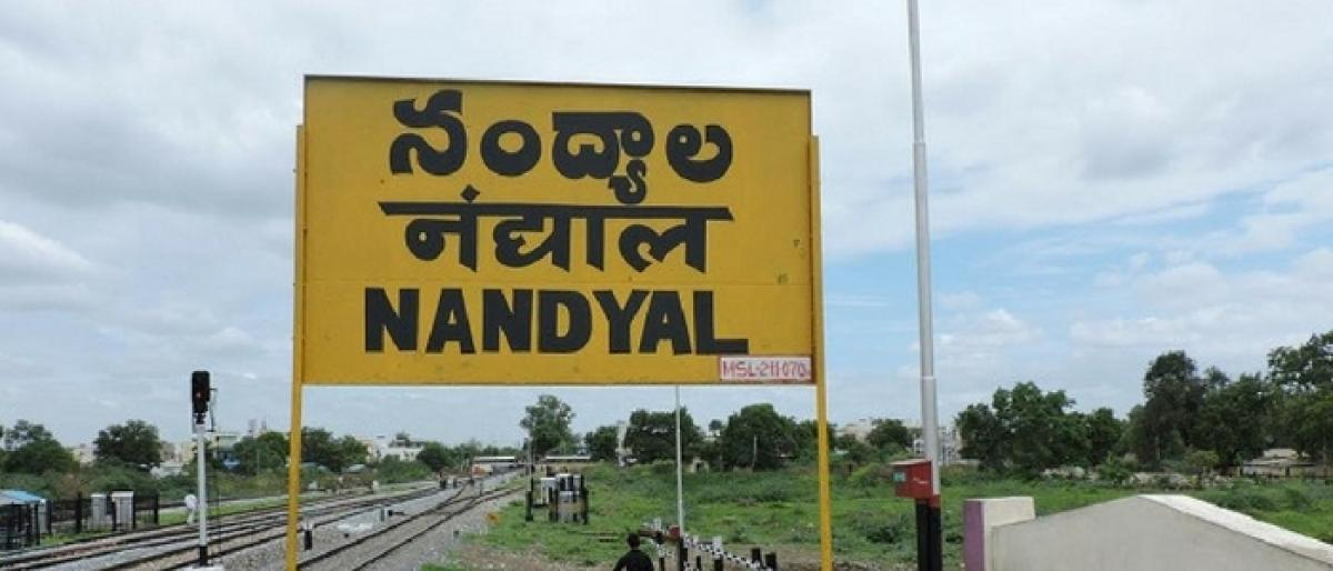 Nandyal bypoll on Aug 23