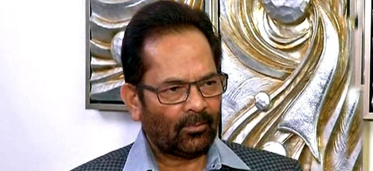 Rahul has become a good mimicry artist: Naqvi