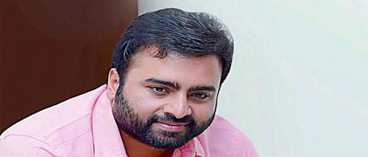 Nara Rohit's spl song in 'Chalo'?