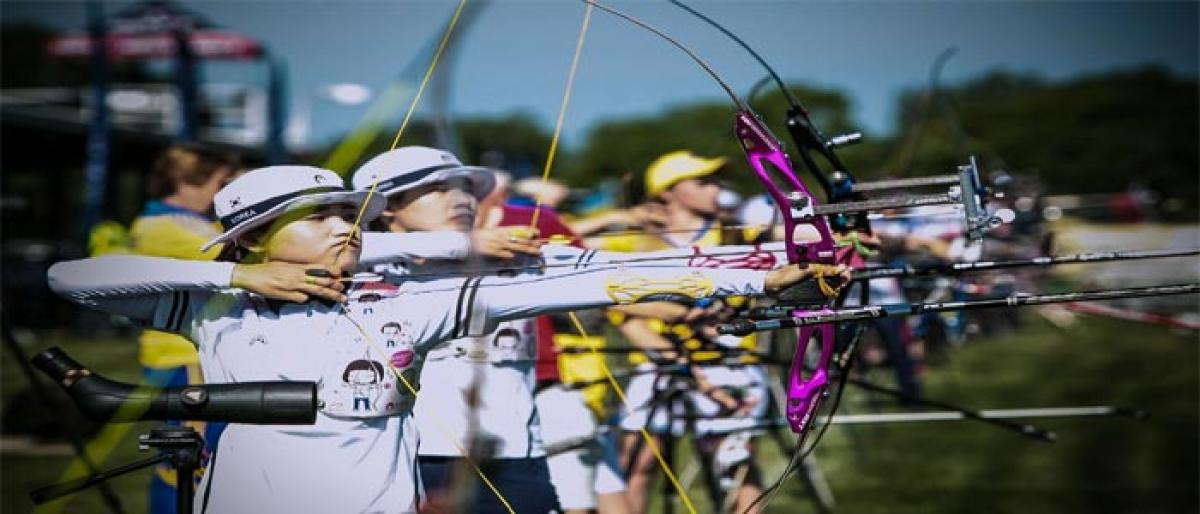 National  Junior Archery Championship begins in city