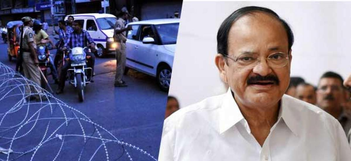 Traffic Restrictions in Hyderabad for vice-president visit