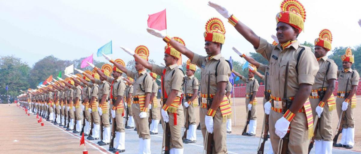 243 new constables given postings in 4 districts of Telangana