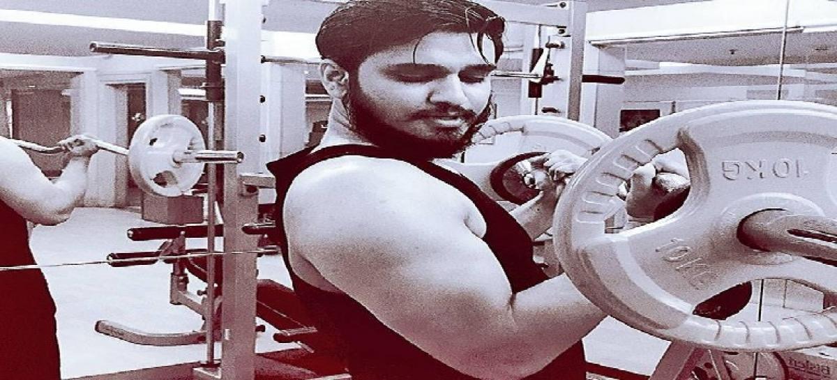 Nikhil on a rich diet