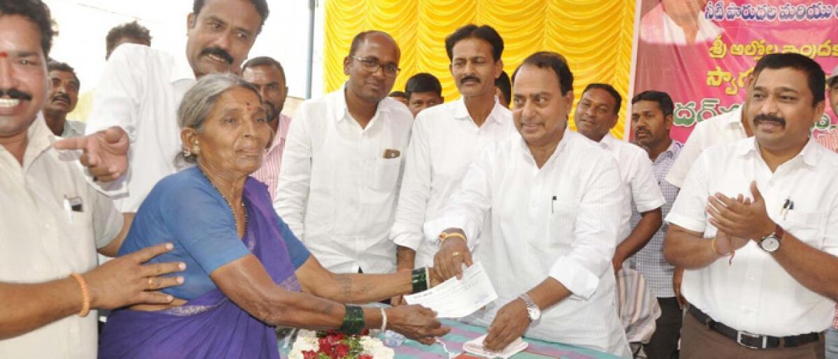 Strengthen financially, farmers told