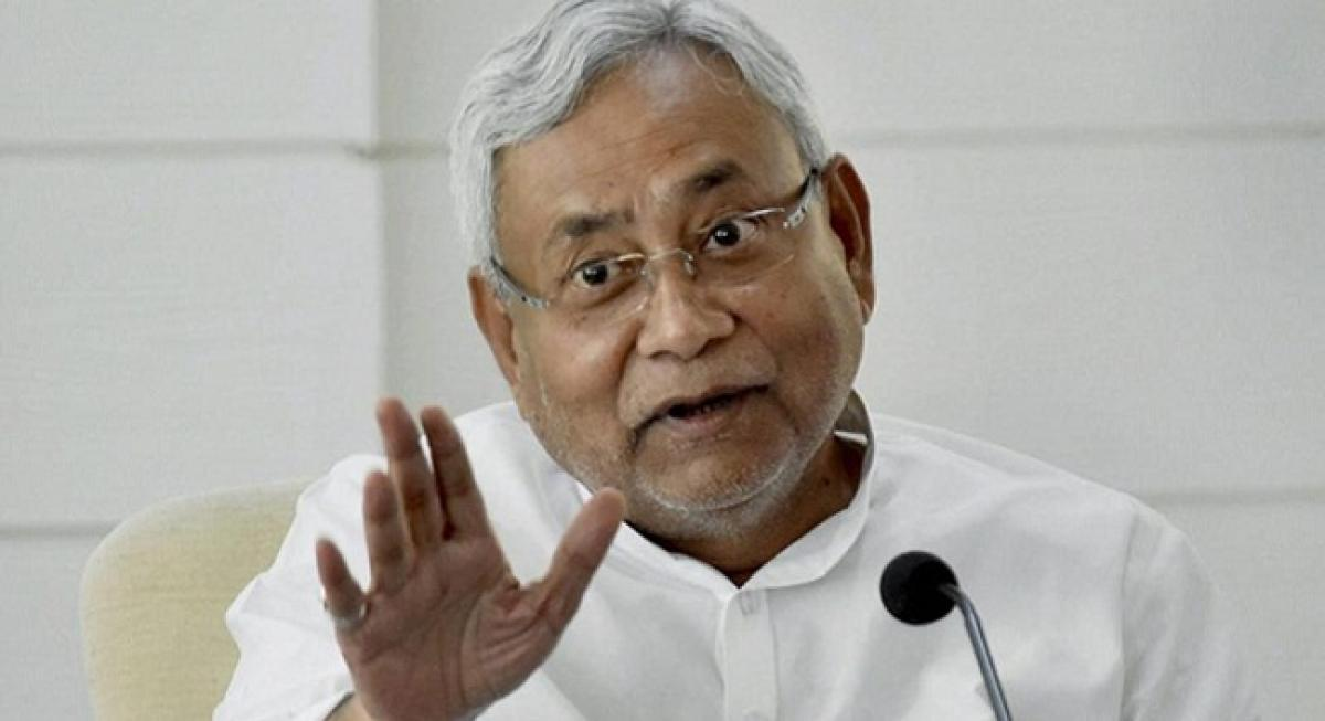 Bihar CM expresses concern over attacks in the western state on non-Gujarati people