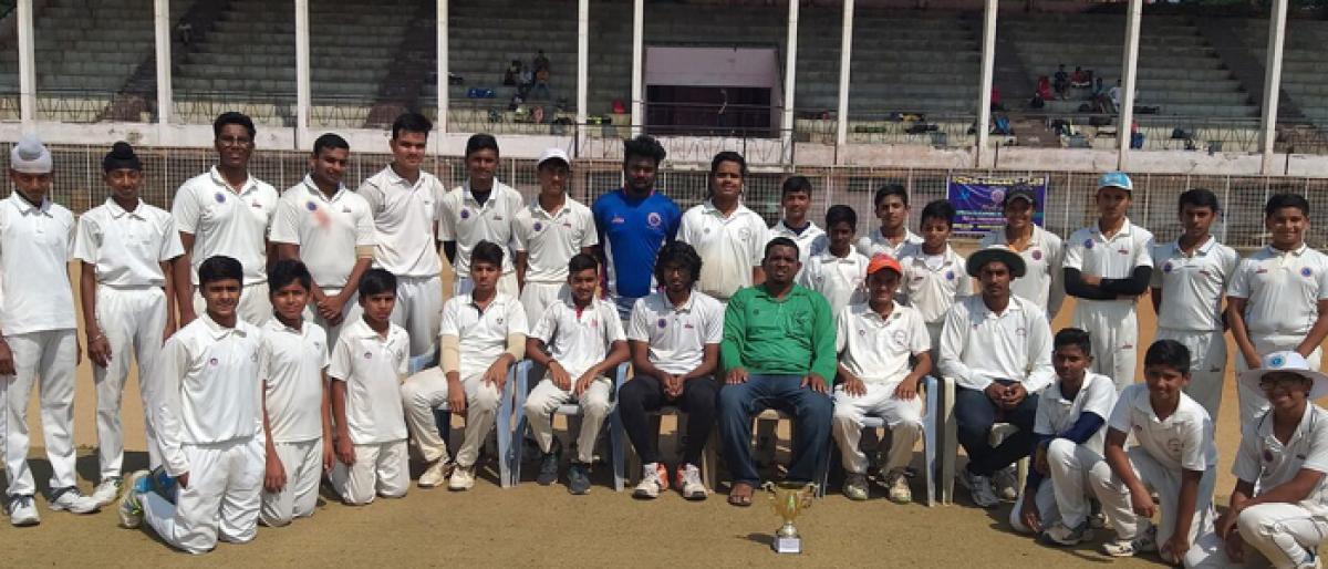 Nizam Cricket Club champs