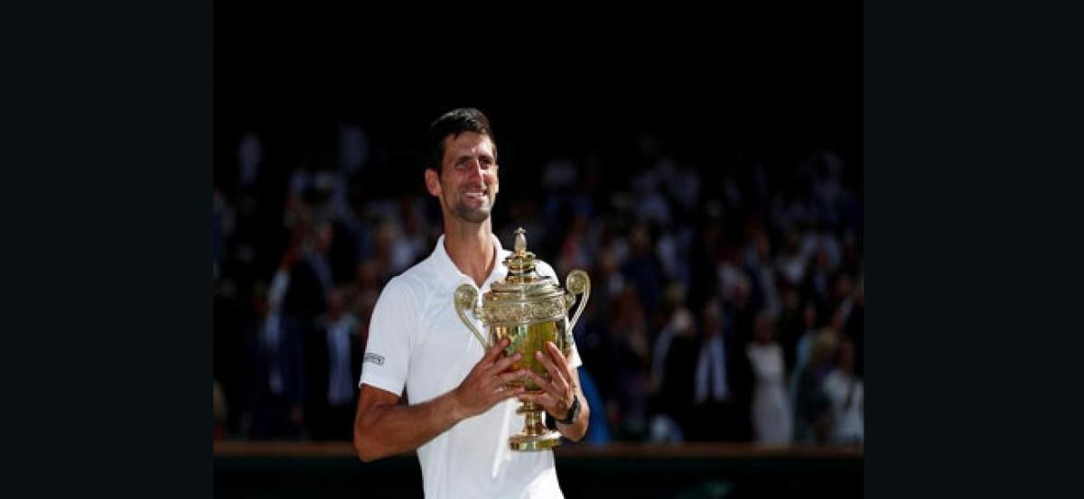 Wishes pour in for newly crowned Wimbledon champ