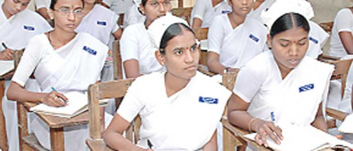 Girl Students From Telugu States Excel In Nursing Teaching