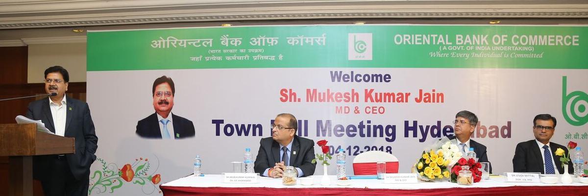 Oriental Bank holds meet